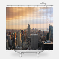 Manhattan Dawn Shower Curtain