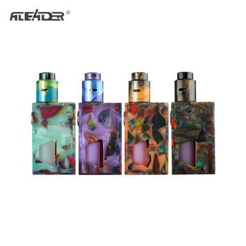 GS2 Original Aleader Funky Squonk Resin Kit Electronic Cigarette With 7ml Capacity Silicone Squonk Bottle Vape kit Powered by 18650