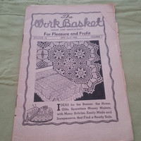 The Work Basket Home and Needle Craft for Pleasure and Profit Volume 15 (2975) April 1950 Number 7