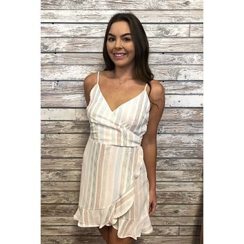 Good Vibes Dress- White