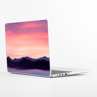 Rocky Mountain Sunset Laptop Skin