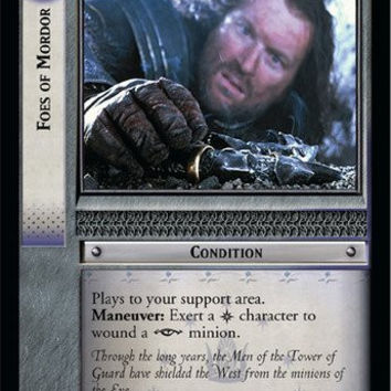 Lord of the Rings TCG - Foes of Mordor - Fellowship of the Ring