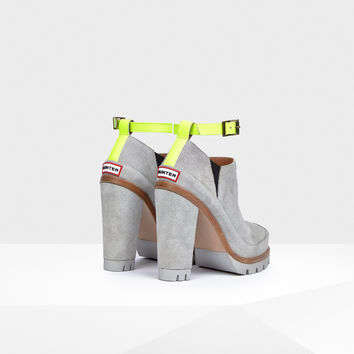 Hunter UK | Women's Original Ankle Strap High Heel Boots | Official Site
