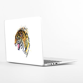Growl Tiger Laptop Skin