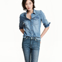 H&M Denim Shirt $29.99