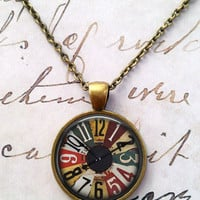 Gothic Science Necklace, Game, Ouija, Vintage, Steampunk, Circus T644
