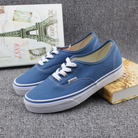 """""""VANSVIM"""" All-match Unisex Casual Low Help Shoes Canvas Shoes Couple Shoes Small White Shoes"""