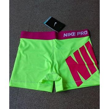 nike fashion print exercise fitness gym yoga running sports shorts-2