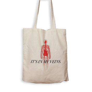 ac NOVO Bass Guitar Is In My Veins - Tote Bag