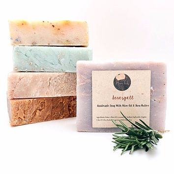 3 Assorted Handmade Soap Bars