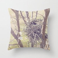 Nest Throw Pillow by CMcDonald | Society6