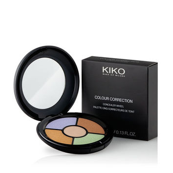 KIKO MAKE UP MILANO: Colour Correction Concealer Wheel - palette with 5 concealer shades