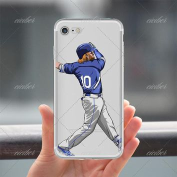 10 Baseball Clear Phone Case for ALL iPhone 7 7Plus 6 6s Plus 5 5s SE