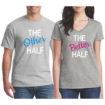 Funny Couple Shirts - Matching Couples Shirts - Husband and Wife Shirts