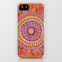 Pumpkin Bloom iPhone & iPod Case by Janet Broxon