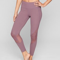 Mesh Shine Salutation 7/8 Tight | Athleta