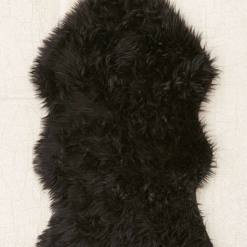 Faux Sheepskin Shaped Rug | Urban Outfitters