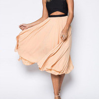 Pink Black Sleeveless Cut Out Asymmetric Dress  (2 Days FREE SHIPPING)