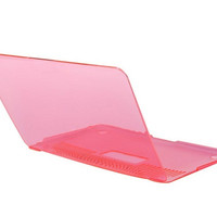 Crystal Protector Cover Case for 11.6 New Apple Macbook Air (Pink)