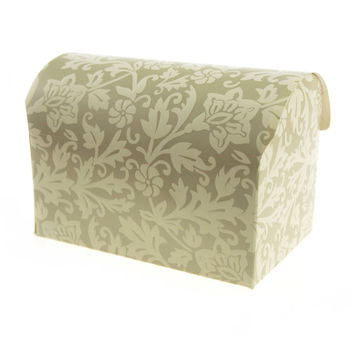 Damask Embossed Favor Boxes, 5-1/2-inch, 12-pack, Jewelry Box