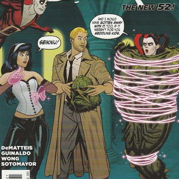 Justice League Dark # 39 DC Comics The New 52! Harley Quinn Variant Cover