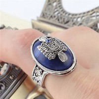Vampire Diaries Damon/Stefan Salvatore Sun Family Crest Ring