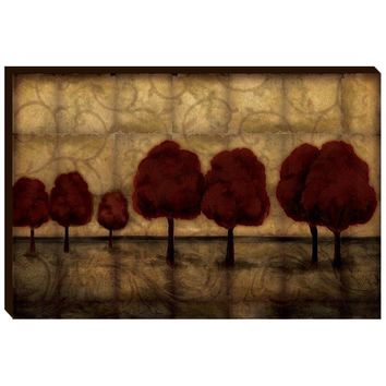 Fall Landscape Canvas Wall Art (2067) - Illuminada