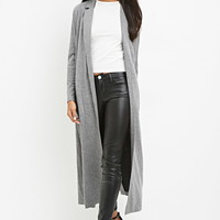 Heathered Longline Blazer