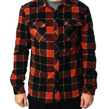 O'Neill Men's SuperFleece Glacial Big Plaid Shirt
