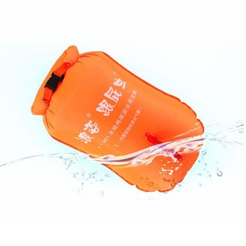 Double Independent Airbag Swimming Rings Floating Drifting Buoy Waist Lock Safe Swimming Rings with Storage Bags 20L 28L 35L 50L