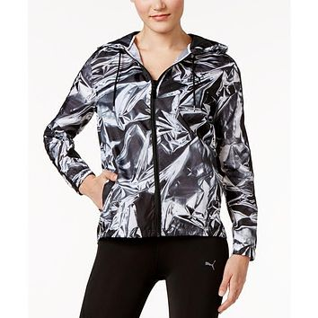 PUMA T7 WIND RUNNER Women Jacket Coat Windbreaker