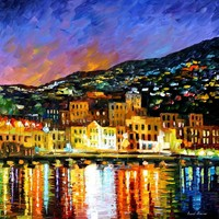 PORTUGAL - MADEIRA ISLAND — PALETTE KNIFE Oil Painting On Canvas By Leonid Afremov - Size 30x30. 10% discount coupon - deviantart10off
