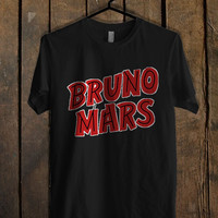 Bruno Mars Red T Shirt Mens T Shirt and Womens T Shirt **
