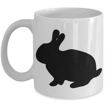 Easter Breakfast Lunch Dinner Bunny Mug Black Coffee Cup For Easter 2017 2018 Gifts For Family Grandparent Grandma Granddad Wive Husband Couples Funny Sayings Holiday Tea Coffee Mugs Cups