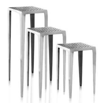 Modern Day Accents Grada Plant Stands In Set of 3