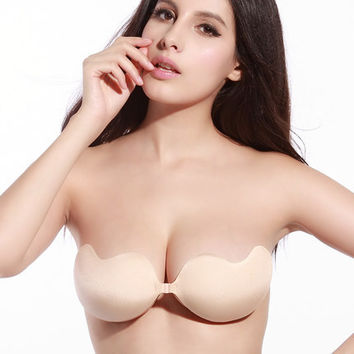 Bra 2017 Europe and America Women Push Up Bra Summer Cover Up Sexy Casual Style Bra Plus Size A-D Cup