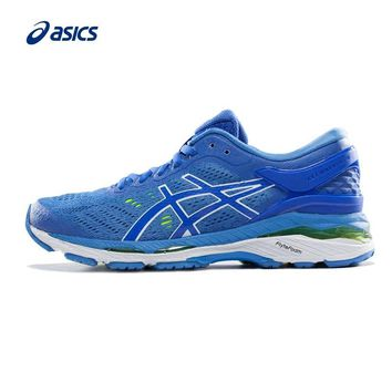 Original ASICS GEL-KAYANO 24 Women's Stability Running Shoes ASICS Sports Shoes Sneakers outdoor Tennis shoes Non-slip classic