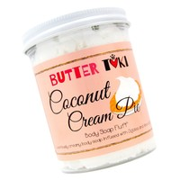 COCONUT CREAM PIE Whipped Body Soap Fluff - Clearance