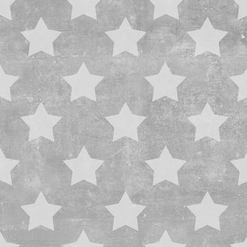 Stars on Concrete Removable Wallpaper