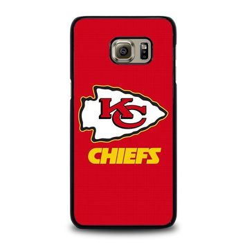 kansas city chiefs samsung galaxy s6 edge plus case cover  number 1