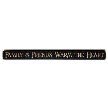 Family & Friends Engraved Sign
