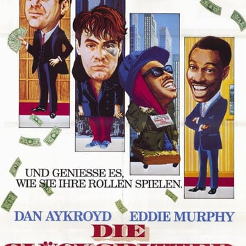 Trading Places (German) 11x17 Movie Poster (1983)