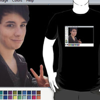 dan howell paint by tomodellshair
