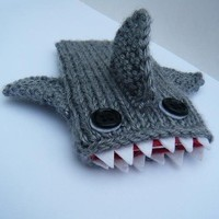 JAWS shark ipod cozy by chrisandyaya on Etsy