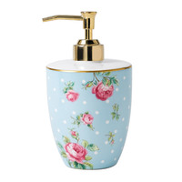 Royal Albert Polka Blue Soap Dispenser