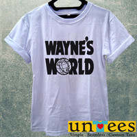 Waynes World Baseball Cap Women T Shirt
