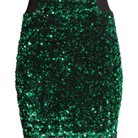 H&M Sequined skirt £39.99