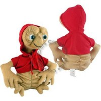 Et Extra-terrestrial 25cm Plush Soft Doll Toy in Red Jacket: Amazon.co.uk: Toys & Games