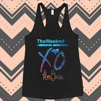 XO The Weeknd Drake YMCMB Galaxy Nebula Funny Tank Top Tank unisex men women Tank Top Size S-2XL