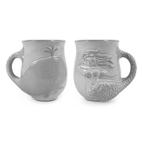 UTOPIA REVERSIBLE MERMAID/WHALE MUG